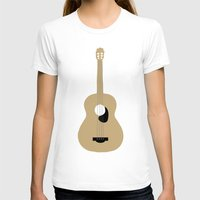 guitar T-shirts featuring GUITAR by Allyson Johnson