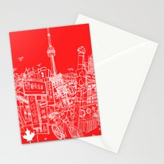 Toronto! (Dark T-shirt Version) Stationery Cards