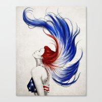 .Liberty Canvas Print