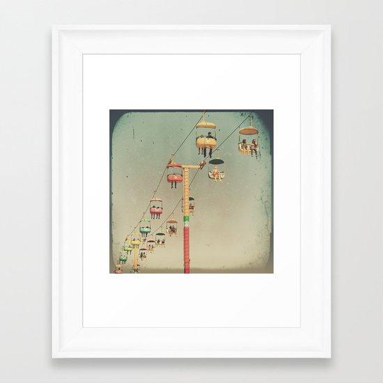 1975 Ride Framed Art Print