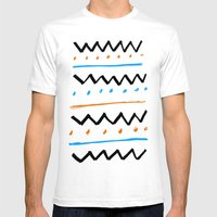 Better Pattern Mens Fitted Tee White SMALL