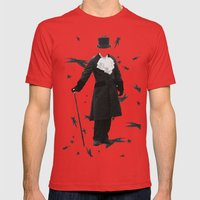 Don't lose your head. Mens Fitted Tee Red SMALL