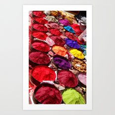 Indian powders Art Print