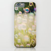 iPhone & iPod Case featuring Bubbles by Heather Lockwood