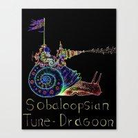 Sobaloopsian Tune-Dragoo… Canvas Print