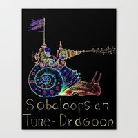Sobaloopsian Tune-Dragoo… Canvas Print