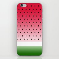 Juicy Watermelon iPhone & iPod Skin
