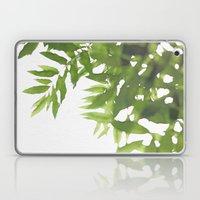 Green Ash Leaves Laptop & iPad Skin