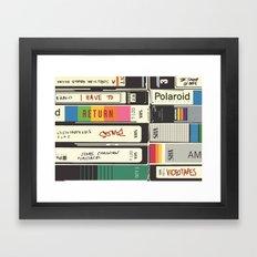 American Psycho Framed Art Print