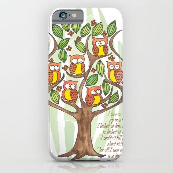 Owl Tree iPhone & iPod Case