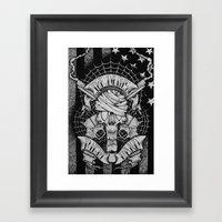 The Devils Right Hand Framed Art Print
