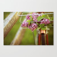 This Is A Love Story Canvas Print