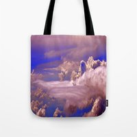 sky sunset Tote Bag