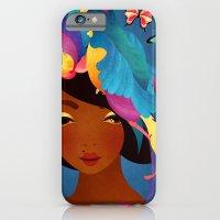 iPhone & iPod Case featuring Bird of Paradise by Jenny Lloyd Illustration