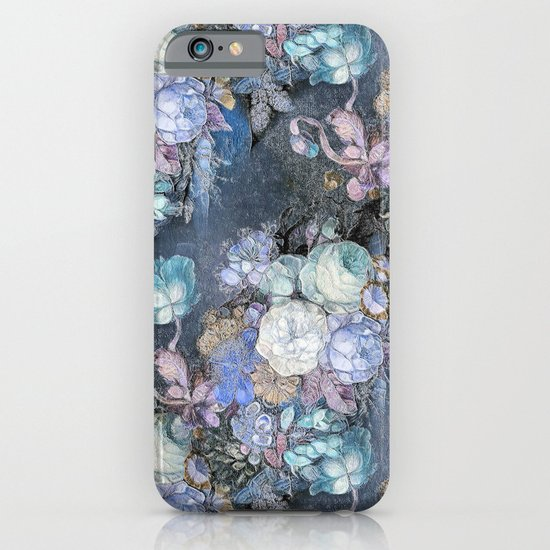 Vintage Blue Jeans Bouquet iPhone & iPod Case