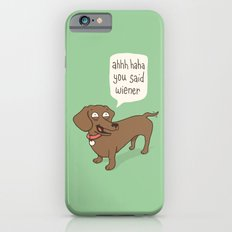 Immature Dachshund iPhone 6 Slim Case