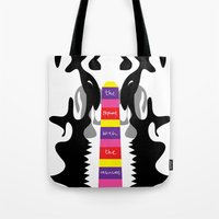 The elephant with the inscissors tusk.  Tote Bag