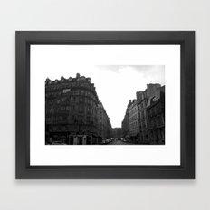 Sleeping Cities Framed Art Print