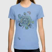 GAMBLING DAY Womens Fitted Tee Athletic Blue SMALL