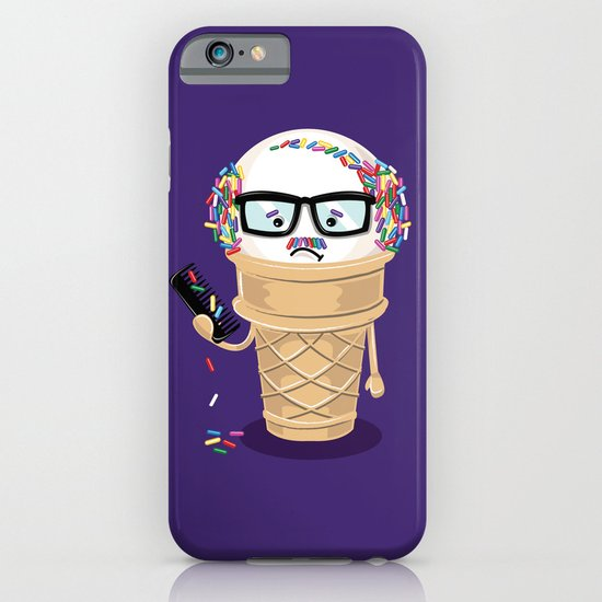 Ice Cream Coneover iPhone & iPod Case