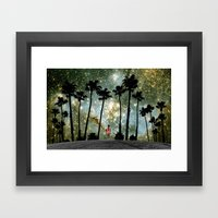 Paradise Galaxy Dream Framed Art Print