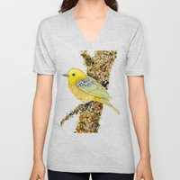 Yellow Warbler Tilly Unisex V-Neck
