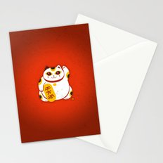 Lucky Cat 2 Stationery Cards