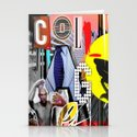Collage is more than just cutting and sticking. Stationery Cards