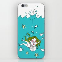 Dive In! iPhone & iPod Skin