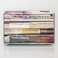 Vintage School Books iPad Case