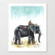 Majestic Safari Canvas Print