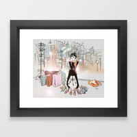 City Boutique Two Framed Art Print