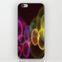 Rainbow Bubbles Design iPhone & iPod Skin