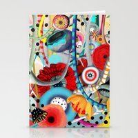 Colorful Happy Days  Stationery Cards