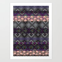 Russian Style Inspired A… Art Print
