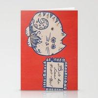 Dia De Los Meow-tos Stationery Cards