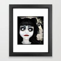 Dear little doll series... EUGENIA Framed Art Print