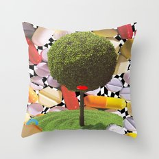 treeism Throw Pillow