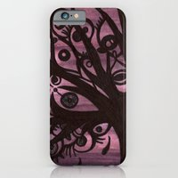 iPhone & iPod Case featuring EYE TREE by Blanca MonQnill Sole