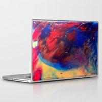 superman Laptop & iPad Skins featuring Superman by justforspiteandmalicedesigns