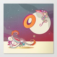 Stay A Float Canvas Print