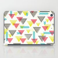Wild Triangles iPad Case