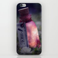 Drink me poison iPhone & iPod Skin
