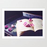 scattered memories Art Print