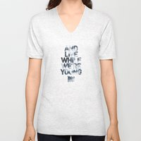 Live While We're Young - 1D Unisex V-Neck