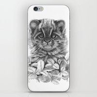 Asian Leopard Cat Cub G0… iPhone & iPod Skin