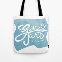 Gin & Tarts Tote Bag