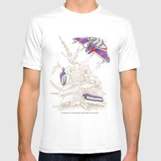 Natural Transformation SMALL Mens Fitted Tee White