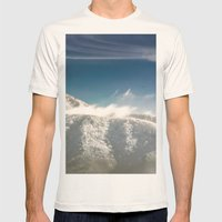 I Will Fly Away Someday Mens Fitted Tee Natural SMALL