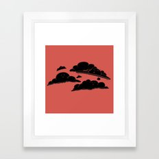Cloud Cover Framed Art Print